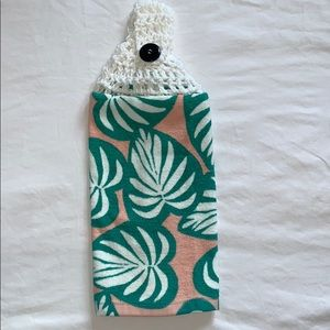 Other - Crocheted Hanging Cotton Kitchen Towel
